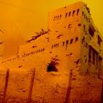 דגם של מצודת משטרת עיראק סווידאן - צילום: אפי אליאן