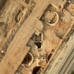 צילום אוירי לפני ההרס: חברת Skyview, באדיבות רשות העתיקות