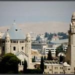 הדורמציון - כנסייה במזרח העיר ירושלים - צילום: אפי אליאן