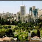 """מתחם גן העצמאות בירושלים - צילום ממגדל ימק""""א - אפי אליאן"""