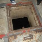 הכניסה למאגר מי התהום מתחת לקניון דיזנגוף - צילום: אפי אליאן
