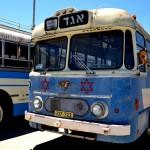אוטובוס - אמבולנס - שימש לחילוץ פצועים במלחמות ישראל - צילום: אפי אליאן