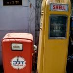 משאבות דלק ותיקות מהתקופות השונות בישראל - צילום: אפי אליאן