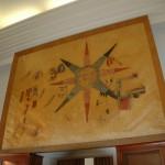 ציור הקיר שנמצא בחפירות האב מאלון בתוּלֵילַאת אל-עַ'סוּל - צילום: אפי אליאן