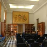 אולם התצוגה במכון האפיפיורי למקרא בירושלים - צילום: אפי אליאן