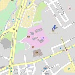 """מפת הגעה למוזיאון בתי האוסף של צה""""ל - מוזיאון צה""""ל - מתוך אתר: עמוד ענן"""