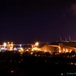 מבט אל המרינה של נמל אשדוד ומנופי הנמל - צילום: אפי אליאן