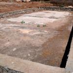 צילום רצפת הפסיפס באשקלון ממערב למזרח
