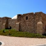 מבט מדרום לצפון לעבר מבנה קבר השיח עוואד