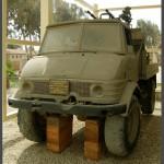 משאית יומינוג בעלת מקלע כבד 4 קנים מתוצרת רוסיה