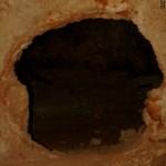 מבט לתוך החלל הראשי של קבר יאסון