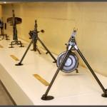 מקלעים קלים בביתן המקלעים במוזיאון בתי האוסף
