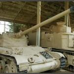 טנק קל מדגם AMX 13 תוצרת צרפת 1952