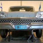 מכונית השרד של ראש הממשלה ושר הבטחון דוד בן גוריון