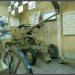 """תותח נ.מ המוצג בביתן התותחים הישראלים במוזיאון צה""""ל"""