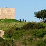 ח'ירבת סמארה על ראש גבעת הכורכר בשמורה
