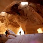 אחת ממערות הפעמון בגן הלאומי של מרשה ובית גוברין