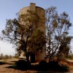 מגדל המים הישן של קיבוץ בארי הראשון