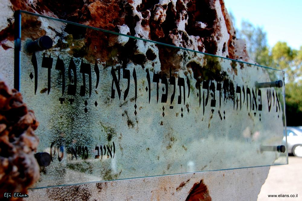 לוח זכרון באתר אסון המסוקים בקיבוץ דפנה