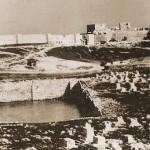 בריכת ממילא בשנת 1856 - צילום: אוגוסט זלצמן