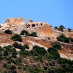 חלקו המערבי של מבצר קלעת נמרוד