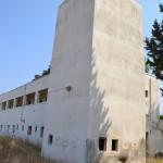 מגדל השמירה במצודת קטרה וחלונות הירי והתצפית