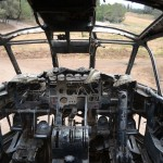 הקוקפיט של מטוס הנורד 072 ביער המגינים