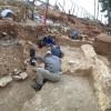 תמונה כללית של החפירה. צילום: דניאל עין מור, באדיבות רשות העתיקות