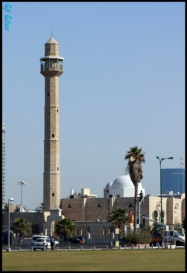 מסגד חסן בק ביפו העתיקה - צילום: אפי אליאן