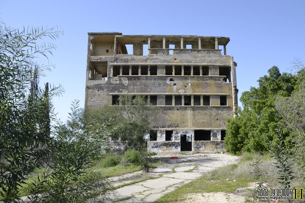 בניין המפקדה מצד צפון לדרום - צילום: אפי אליאן