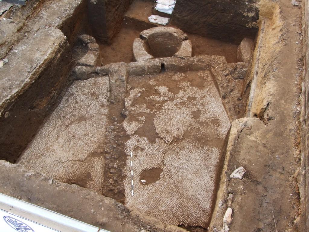 שרידים תחת כבישי תל אביב - צילום: באדיבות רשות העתיקות