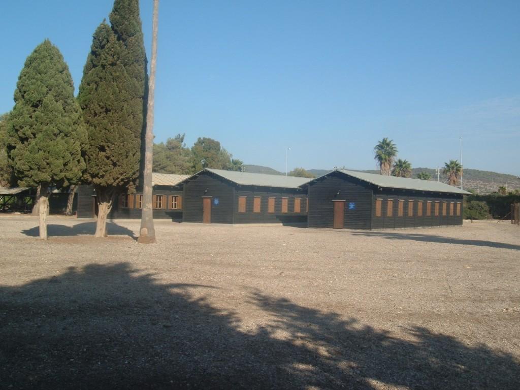 מחנה המעפילים בעתלית - צילום: ויקיפדיה ישראל