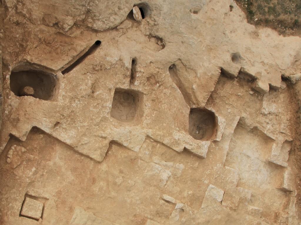 צילום עליון של מתחם מקווה הטהרה בקרית מנחם ירושלים - צילום: חברת Skyview