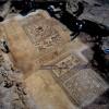פסיפס לוד. צילומים: ניקי דוידוב, באדיבות רשות העתיקות