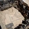 רצפת פסיפס ברחוב ברחוב הגיא בתל בית שאן