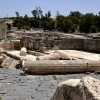 שרידי העיר לאחר רעידת האדמה הקשה - צילום: אפי אליאן
