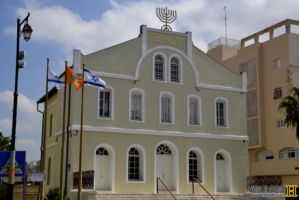 בית הכנסת הגדול בראשון לציון 2013 - צילום: אפי אליאן