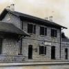 תחנת צ'רר (סורק) המקורי כפי שתועד בדוח של מהנדס העיר לוד בשנת 1936 - ארכיון רכבת ישראל