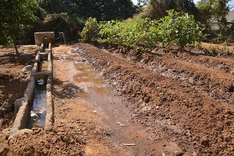 """תעלות המים המשוחזרות בכפר מל""""ל - צילום: אפי אליאן"""