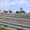 המקום בו עברה אמת המים לרמלה - כיום כביש 6 - צילום: אפי אליאן