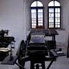 חדר הדפוס במוזיאון אסירי המחתרות - צילום: אפי אליאן