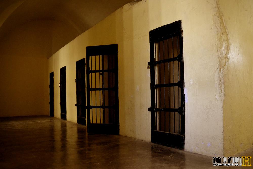 חדרי הצינוק במוזיאון אסירי המחתרות ירושלים - צילום: אפי אליאן