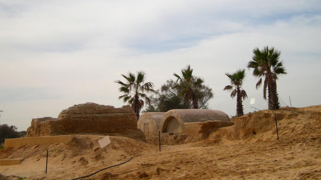 אחוזות הקבר שנחשפו באשדוד - צילום: סער גנור, באדיבות רשות העתיקות
