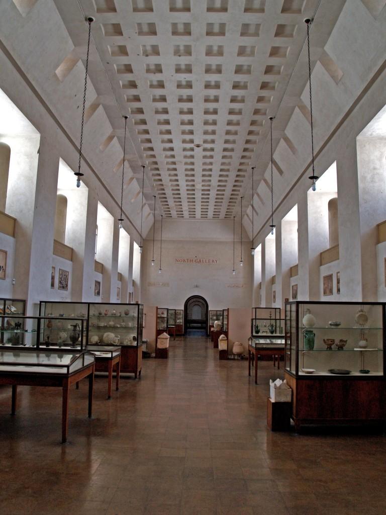 אחד האולמות במוזיאון רוקפלר לארכיאולוגיה בירושלים. צילום: סילביה קרפיוקו, באדיבות רשות העתיקות