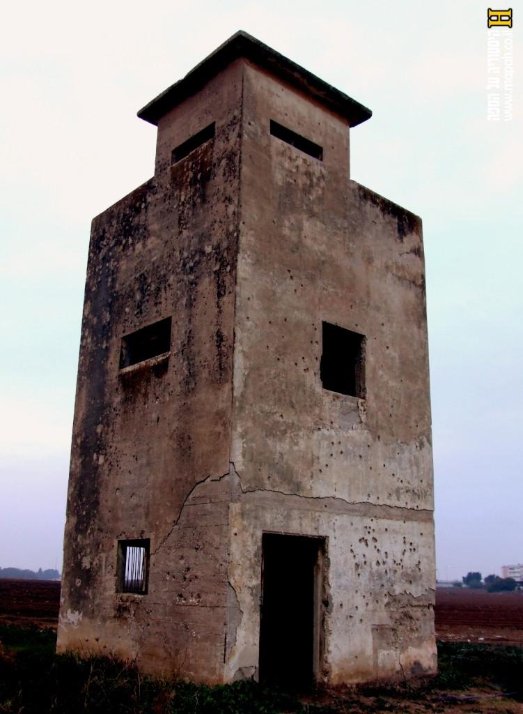 המגדל הישן - באר טוביה - צילום: אפי אליאן