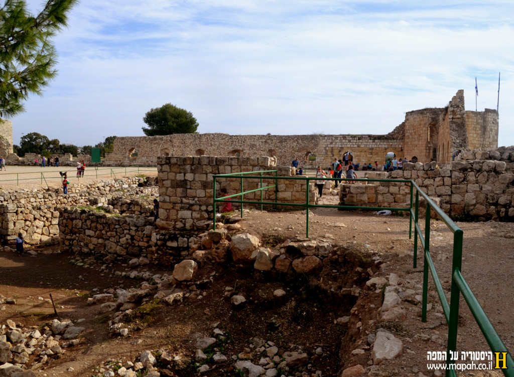 שטח פנים מצודת אנטיפטרוס - צילום: אפי אליאן