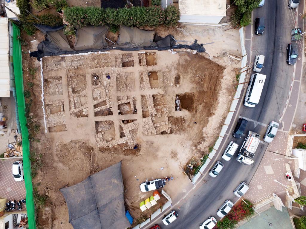 צילום אווירי של החפירה: גיא פיטוסי