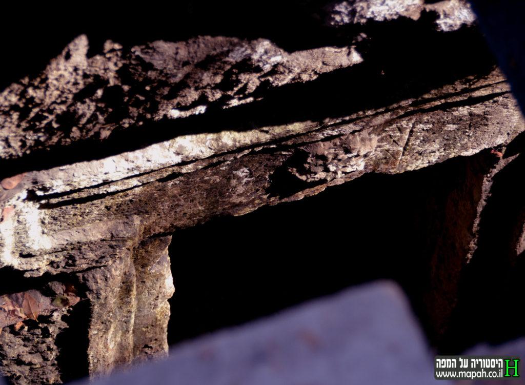 פתח המערה תחת גרם המדרגות - הגברת מיקי - צילום: אפי אליאן