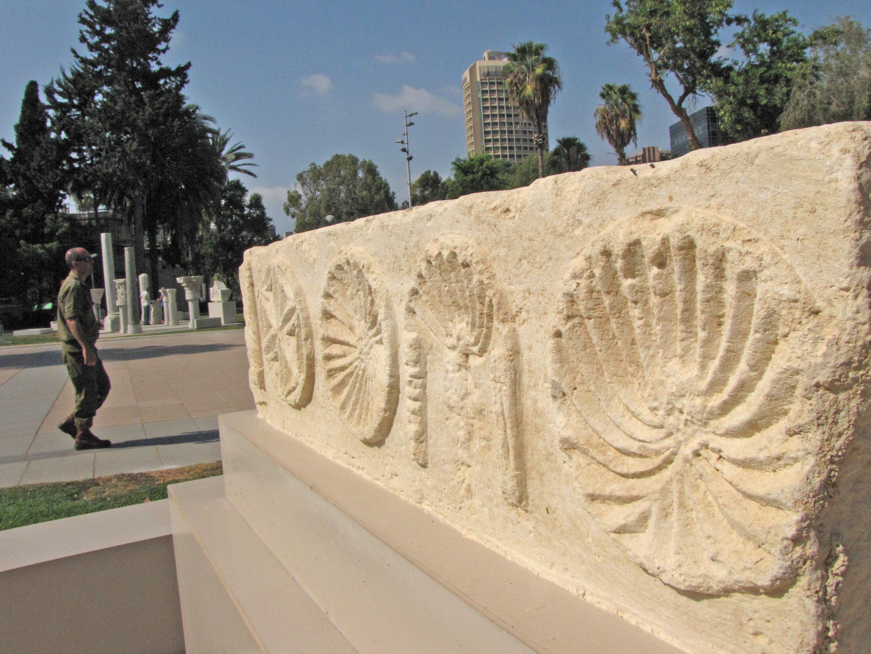גן ארכיאולוגי הגדול בישראל נחנך בלב תל אביב