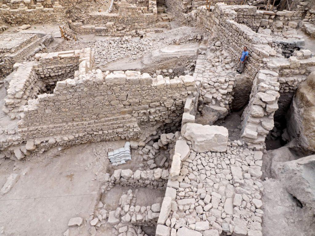 תמונות חפירת חניון גבעתי בעיר דוד. צילום: אסף פרץ
